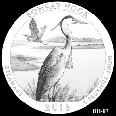 Bombay Hook National Wildlife Refuge Quarter Design BH-07