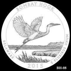 Bombay Hook National Wildlife Refuge Quarter Design BH-08