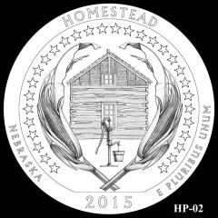 Homestead National Monument of America Quarter Design HP-02