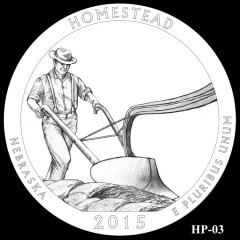 Homestead National Monument of America Quarter Design HP-03