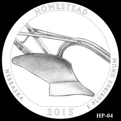 Homestead National Monument of America Quarter Design HP-04