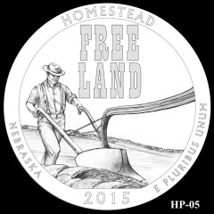 Homestead National Monument of America Quarter Design HP-05