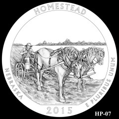 Homestead National Monument of America Quarter Design HP-07
