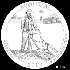 Homestead National Monument of America Quarter Design HP-09