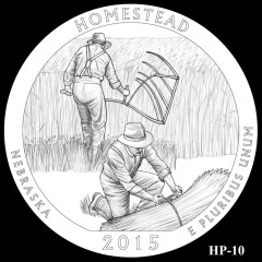 Homestead National Monument of America Quarter Design HP-10