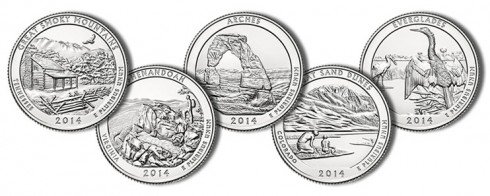 Images of the 2014 National Park Quarters