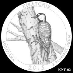 Kisatchie National Forest Quarter Design KNF-02