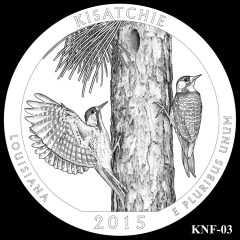 Kisatchie National Forest Quarter Design KNF-03