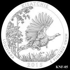 Kisatchie National Forest Quarter Design KNF-05