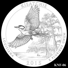 Kisatchie National Forest Quarter Design KNF-06