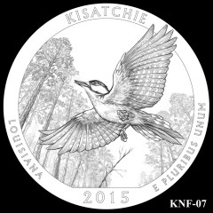 Kisatchie National Forest Quarter Design KNF-07