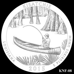 Kisatchie National Forest Quarter Design KNF-08