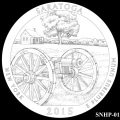 Saratoga National Historical Park Quarter Design SNHP-01