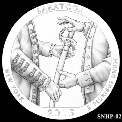 Saratoga National Historical Park Quarter Design SNHP-02