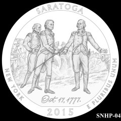 Saratoga National Historical Park Quarter Design SNHP-04