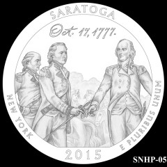 Saratoga National Historical Park Quarter Design SNHP-05