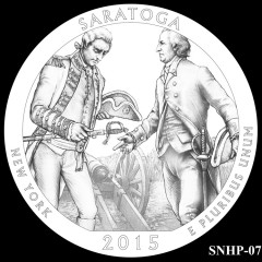 Saratoga National Historical Park Quarter Design SNHP-07