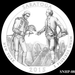 Saratoga National Historical Park Quarter Design SNHP-08