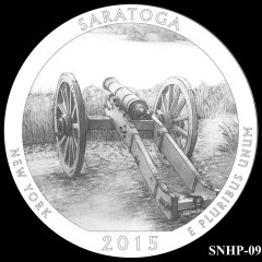 Saratoga National Historical Park Quarter Design SNHP-09