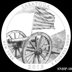 Saratoga National Historical Park Quarter Design SNHP-10