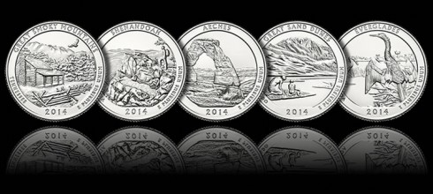 2014 National Park Coins