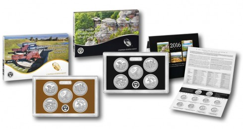 US Mint Proof, Silver Proof and Uncirculated Quarters Sets