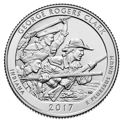 2017 George Rogers Clark Quarter